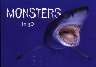 3D postegels Monsters in 3D